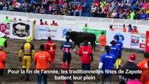 Le rodéo à dos de taureaux: le défi de fin d'année au Costa Rica