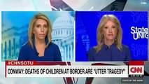 CNN Host Calls Out Kellyanne Conway For Falsely Blaming Bitter Migrant Debate On Democrats