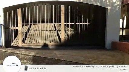 A vendre - Parking/box - Carros (06510) - 15m²