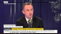 """Annulation de la hausse des taxes sur les carburants par Emmanuel Macron : """"Il a eu tort, mais il n'avait plus le choix"""", estime Emmanuel Grégoire, premier adjoint de la mairie de Paris"""