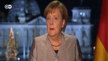 Almanya Başbakanı Merkel'den yeni yıl dilekleri