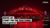 Nouvel An : Sydney tire le plus grand feu d'artifice de son histoire