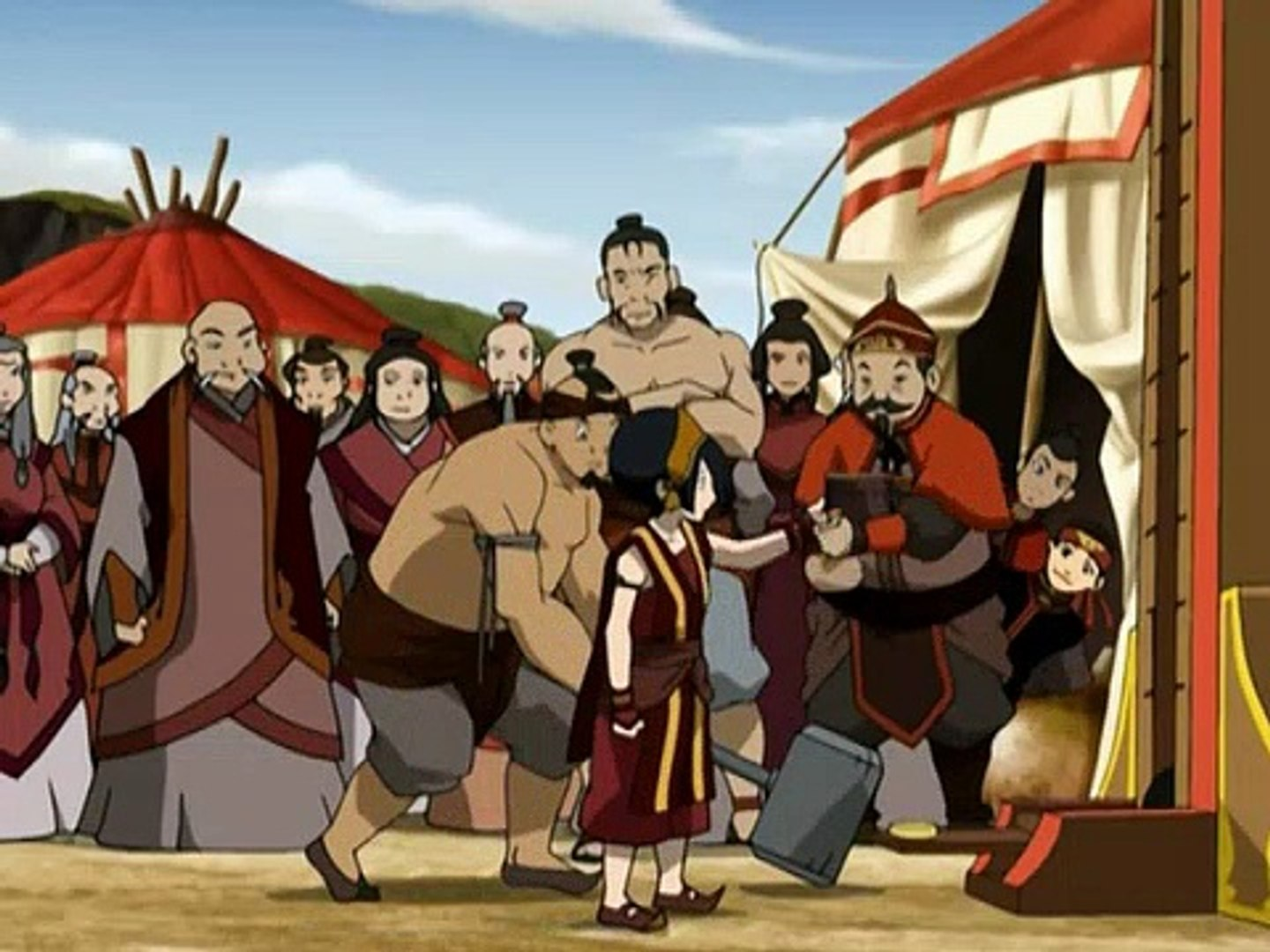 Avatar The Last Airbender Book 3 Fire E07 The Runaway
