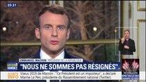 """Vœux d'Emmanuel Macron: Adrien Quatennens estime qu'il """"a pris un ton de donneur de leçon"""""""