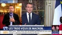 """Le porte-parole du Rassemblement national Sébastien Chenu considère qu'Emmanuel Macron """"attaque la fonction présidentielle"""""""