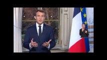 Les voeux d'Emmanuel Macron aux Français pour 2019