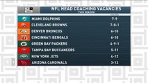 Tiki and Tierney: NFL head coaching vacancies