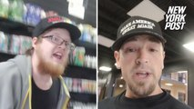 Man claims he was kicked out of vape shop for wearing 'MAGA' hat