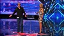 Ghost! Mike Super Terrifies Heidi Klum on Stage!   Magician s Got Talent