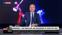 Rennes: Ils ont passé le Nouvel An à plus de 50m de hauteur dans une nacelle pendant des heures - Les images du sauvetage - VIDEO