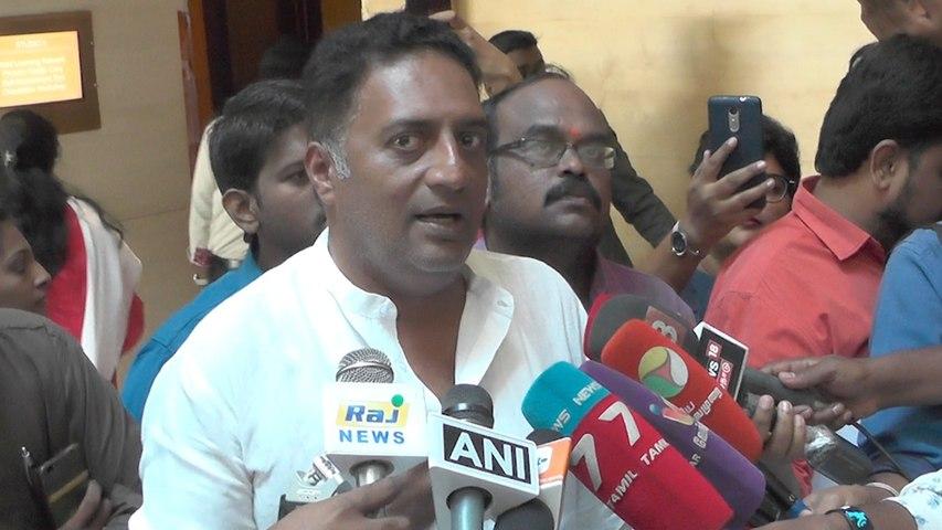 New Year 2019 Updates:Actor Prakash Raj To Enter Into Politics