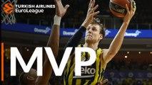 Turkish Airlines EuroLeague MVP for December: Jan Vesely, Fenerbahce Beko Istanbul