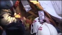 Miraculé, ce bébé de 11 mois retrouvé après 24h enterré sous l'effondrement d'une maison