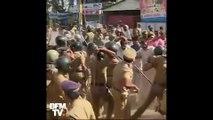 En Inde, l'entrée des femmes dans un temple hindou provoque des heurts