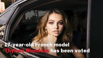 Thylane Blondeau Named 'Most Beautiful Face' Of 2018