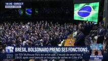Jair Bolsonaro prend ses fonctions de président du Brésil
