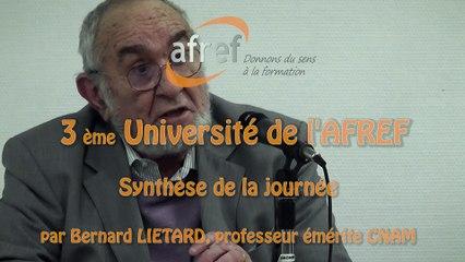 AFREF Université Synthèse