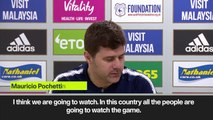 Eng Sub: Pochettino is going to watch Man City – Liverpool
