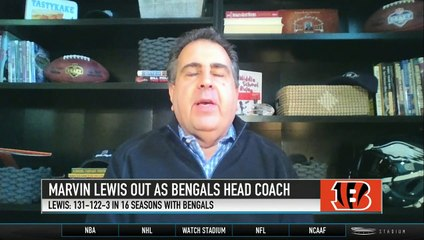 Adam Caplan Explains Why the Bengals Fired Marvin Lewis