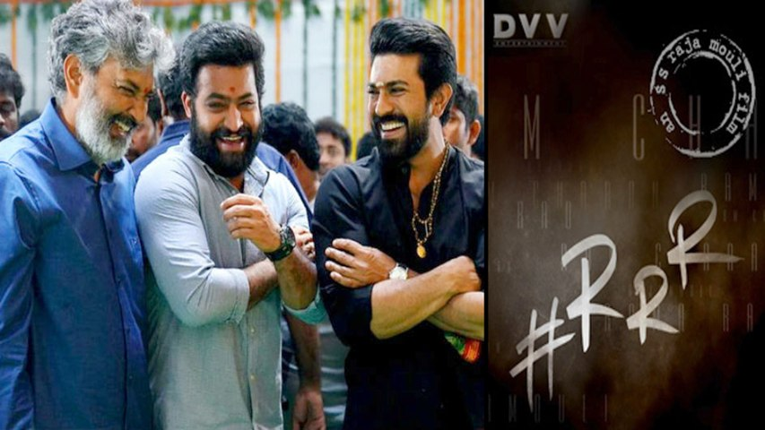 #RRR Movie Update:RRR Movie New Title Discussions Going On