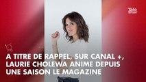 L'animatrice de Canal +, Laurie Cholewa, a accouché de son premier enfant