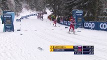 Oestberg beat Nepryaeva to the line in ladies' 10km Cross-Country in Germany
