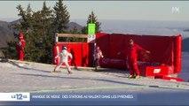 Pyrénées : en l'absence de neige, des stations de ski tournent au ralenti