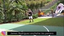 James Rodriguez enchaine les paniers, Flo Thauvin ramène la coupe à la maison