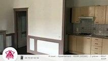 A louer - Appartement - RIOM (63200) - 3 pièces - 40m²