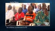 DDF ivoire news: l'amicale des arbitres de football de Côte d'Ivoire soutient la FIF face au Gx