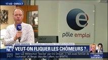 """""""Ce n'est pas en sanctionnant les chômeurs qu'on va les aider à trouver un emploi"""" explique Denis Gravouil"""