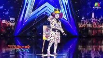 Mad Hatter Performs Magic With Judge on Thailand s Got Talent   Magicians Got Talent