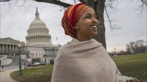"""Rep. Ilhan Omar of Minnesota makes history, says U.S. """"could do better"""""""