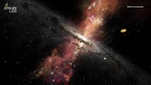 Galaxy Coming Our Way Could Wake a Supermassive Black Hole And Send The Milky Way Flying Into Space