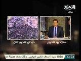 تقرير  مراسل قناة التحرير من الميدان اليوم و الهتاف الشعب يريد اسقاط النظام