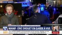 Gilets jaunes: Éric Drouet placé en garde à vue