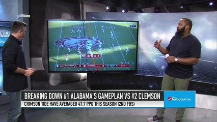 Breaking Down Alabama's Offensive Gameplan Against Clemson