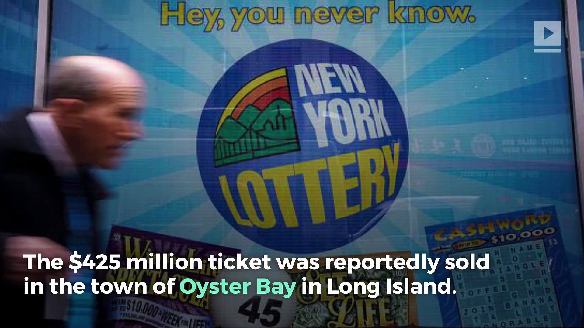 $425 Mega Millions Lottery Ticket Sold in New York