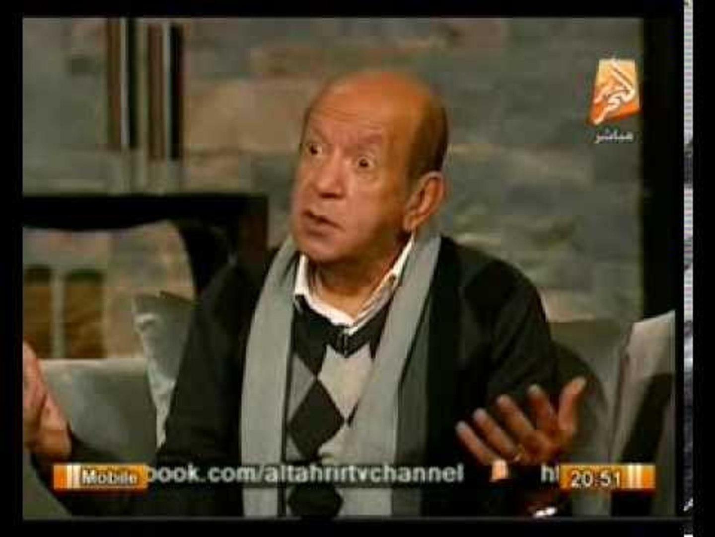 الفنان لطفي لبيب في حوار الكوميديا والسياسة  ما توقعاته لـ 25 يناير 2014  .. في الميدان