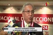 """Junta de fiscales supremos exige """"renuncia irrevocable"""" de Pedro Chavarry"""