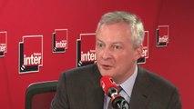 """Bruno Le Maire, ministre de l'Économie, à propos de la crise des 'gilets jaunes' : """"Nous avons été pris de vitesse, comme tous les Français, par ce mouvement"""""""