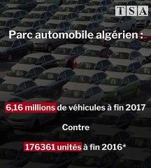 Le parc automobile algérien