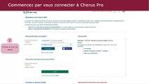 Tutoriel Chorus Pro V2 - Déposer une facture