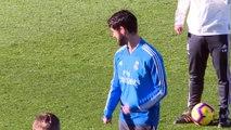 El Real Madrid prepara el partido aplazado contra el Villareal