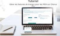 Tutoriel Chorus Pro V2 - Gérer les factures de travaux pour les MOA