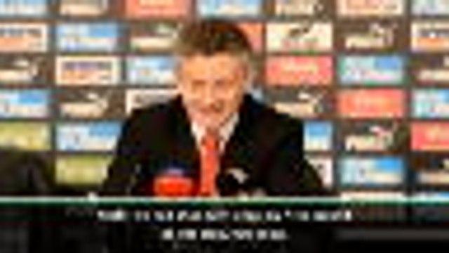 FOOTBALL: Premier League: Humbling to hear fans sing my name - Solskjaer