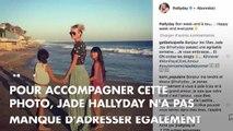 "PHOTO. ""Amour inconditionnel"" : Jade Hallyday adresse une tendre déclaration à sa maman Laeticia"