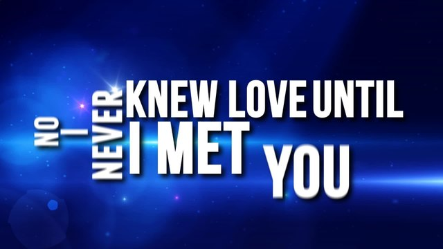 Janice Javier - Never Knew Love (Until I Met You)
