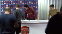 Unai Emery looks ahead to facing Blackpool in the FA Cup 3rd round