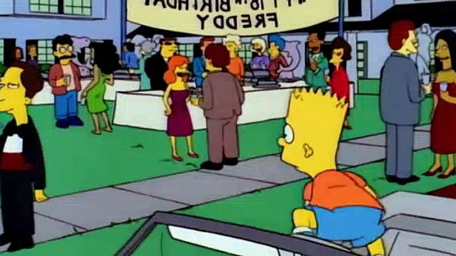 The Simpsons S05E20 The Boy Who Knew Too Much